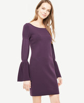 Ann Taylor Blouson Sleeve Sweater Dress