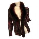 Roberto Cavalli Purple Wool Knitwear for Women