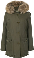 Woolrich padded parka - women - Cotton/Feather Down/Polyamide/Duck Feathers - XS