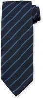 Tom Ford Neat Diagonal-Stripe Silk Tie