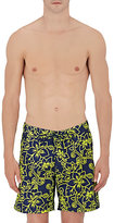 Sundek MEN'S FLORAL SWIM TRUNKS