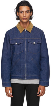 A.P.C. Indigo Denim Linden Jacket