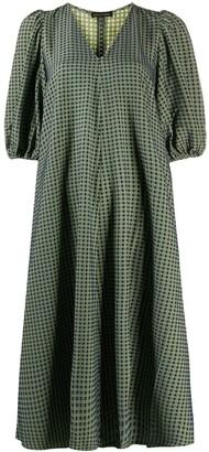 Stine Goya Grid Print Dress