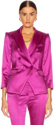 Veronica Beard Empire Dickey Jacket in Pink | FWRD