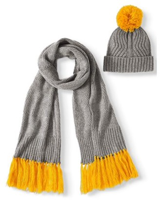 No Boundaries Winter Hat & Scarf Gift Set