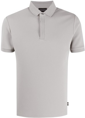 Emporio Armani Solid-Color Polo Shirt