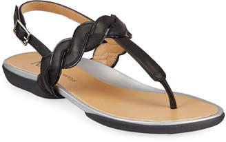 Neiman Marcus Waneta napa Thong Sandal