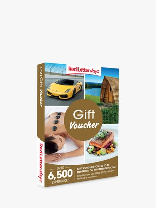 Red Letter Days 50 Gift Experience Voucher