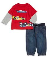 Kids Headquarters Baby's Two-Piece Cotton Jersey Tee and Pants Set