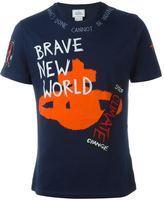 Vivienne Westwood Man Brave New World print T-shirt