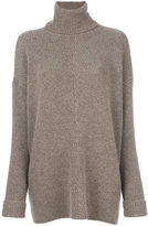 Agnona roll neck jumper