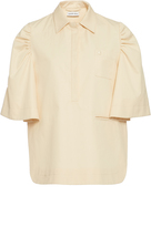 Carven Short Sleeve Collared Shirt