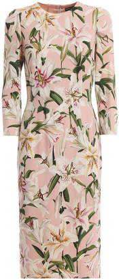 Dolce & Gabbana Printed Gigli Dress