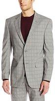 Perry Ellis Men's Plaid Suit Separate Jacket
