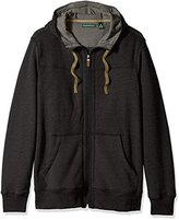G.H. Bass & Co. Men's Explorer Sueded Fleece Long Sleeve Hoodie Jacket