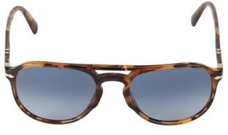 Persol 55MM Aviator Sunglasses