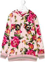 Dolce & Gabbana floral print hoodie