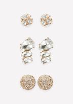 Bebe Sparkling Earring Set