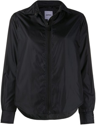 Aspesi Pointed Collar Zipped Jacket
