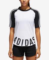adidas Colorblocked Baseball T-Shirt