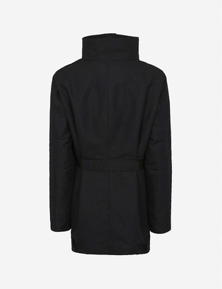 Balenciaga Pulled parka shell coat