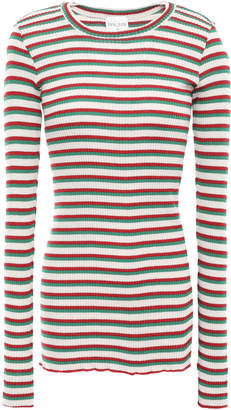 Forte Forte Forte_forte Ribbed Wool-blend Top