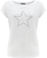 Mint Velvet Etoile Star Print T-Shirt