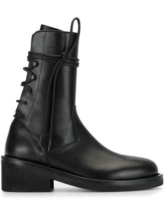 Ann Demeulemeester Tie Ankle Boots