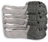 Sperry Men's Sport Stripe 3-Pack Performance Liner Socks
