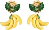 Dolce & Gabbana Cerimonia crystal-embellished earrings