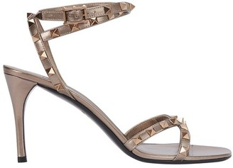 Valentino Rockstud pumps with ankle straps