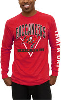 Junk Food Clothing Men's Tampa Bay Buccaneers Nickel Formation Long Sleeve T-Shirt