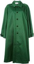 Barena oversized coat - women - Cotton - XS