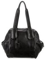 Calvin Klein Collection Glossy Leather Hobo