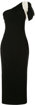 Saiid Kobeisy One-Shoulder Asymmetric Dress
