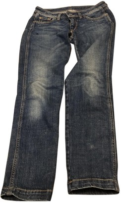 Mauro Grifoni Blue Cotton - elasthane Jeans for Women