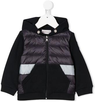 Moncler Enfant Panelled Padded Jacket