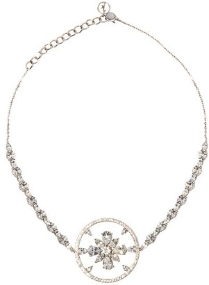 Anissa Kermiche Avalanche Diamond & 18kt White-gold Choker - White Gold