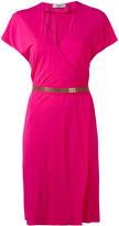 Lanvin metallic shift dress - women - Viscose - 40