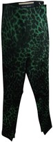 Roland Mouret Green Spandex Trousers for Women