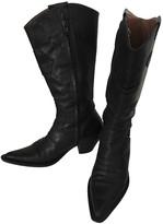 Non Signã© / Unsigned Non SignA / Unsigned Black Leather Boots