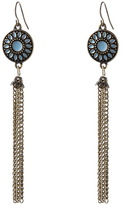 Long, tassle earrings