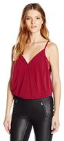 BCBGeneration Women's Surplice Strappy Top