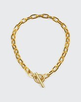 Thumbnail for your product : Ben-Amun Oval-Link Chain Necklace