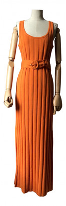 Mara Hoffman Orange Patent leather Dresses