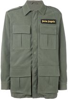 Palm Angels cargo jacket - men - Cotton/Polyamide/Polyester/metal - 50