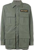 Palm Angels cargo jacket - men - Cotton/Polyamide/Polyester/metal - 50