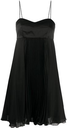 Pinko Pleated Chiffon Dress