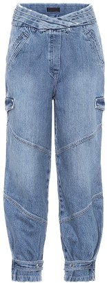 RtA Dallas high-rise cargo jeans
