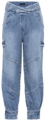 RtA Dallas high-rise cargo jeans